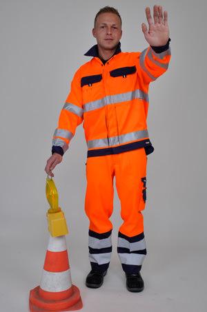 Auffallend gut: Die masterdress Warnschutzkleidung